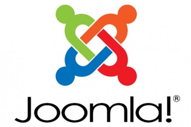 исправление ошибок, помощь по сайту на Joomla 1 - kwork.ru