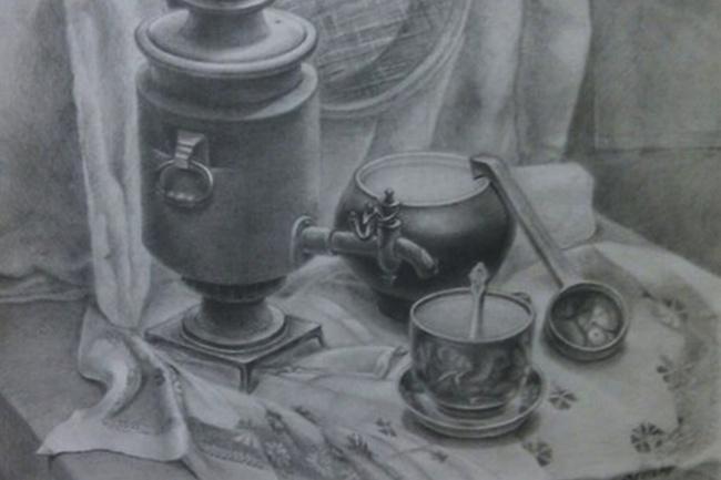 нарисую иллюстрацию карандашом или тушью 1 - kwork.ru