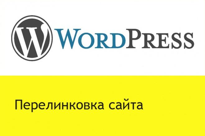 Помогу выполнить перелинковку на сайте wordpressДоработка сайтов<br>Перелинковка помогает сайту подняться в поисковой выдаче. Особенно для поисковой системы google. Ваш сайт имеет определенное количество страниц. Закажите столько кворков, сколько считаете необходимым для сайта. Перелинковка нужна для всех страниц и для будущих тоже. Запланируйте объемы этой работы на необходимый, по вашему мнению, период времени.<br>