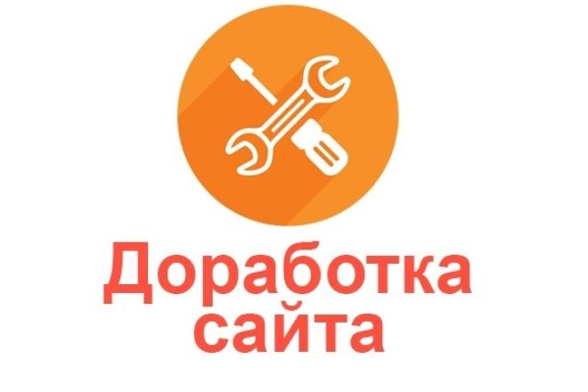 Профессиональная доработка сайта 1 - kwork.ru