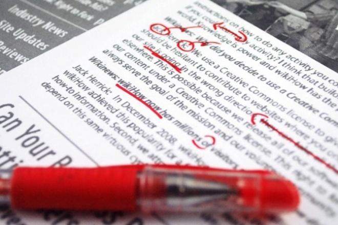Оперативно отредактирую текстРедактирование и корректура<br>Отредактирую и откорректирую ваш текст, исправлю ошибки. Гарантия максимально коротких сроков, в связи с наличием свободного времени.<br>
