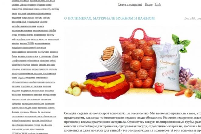 Статья из ЖЖ с ТИЦ 600 1 - kwork.ru