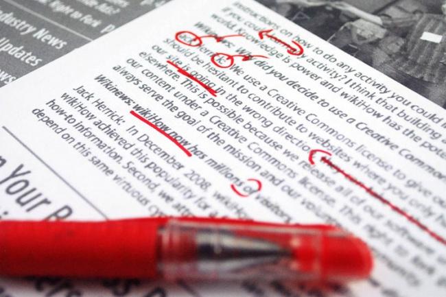 Исправлю пунктуационные и орфографические ошибки в вашем текстеРедактирование и корректура<br>Исправлю ошибки в тексте. Грамотность - 100%. Оформление текста по всем правилам русского языка. Есть опыт работы.)<br>
