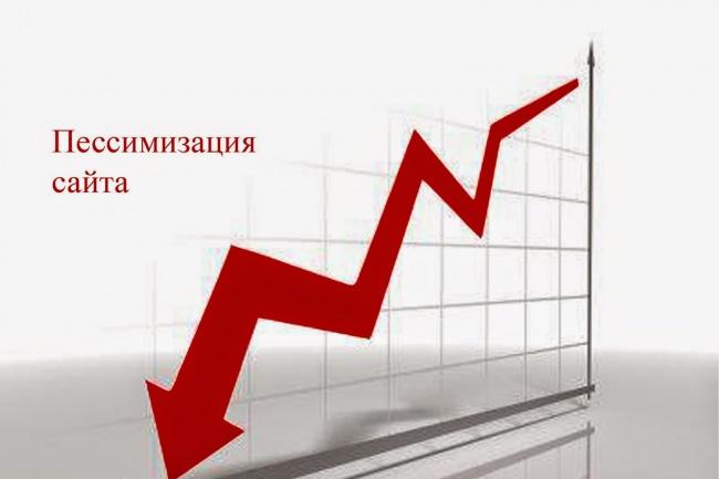 проверю находится ли ваш сайт под фильтром или пессимизирован он 1 - kwork.ru