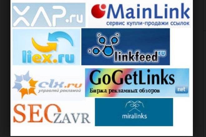 Короткие заметки, анкоры для бирж ссылок 1 - kwork.ru