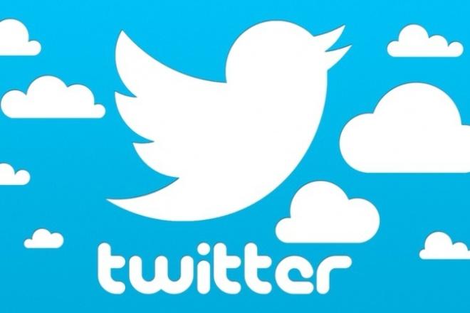 Накручу 1000 подписчиков в TwitterПродвижение в социальных сетях<br>Социальные сигналы - это один из факторов ранжирования в поисковых системах, поэтому не пренебрегайте им! Накрутка живых русских подписчиков на вашу страницу в Twitter 1000 Гарантия 100%. Участники могут добровольно уйти из группы, но % таких участников не превышает 10-15% от общего количества вступивших. Скорость невысокая, около 10-30 фолловеров в сутки. Живые пользователи из России и стран СНГ будут подписываться на Вашу страничку twitter. Только высококачественные фолловеры.<br>