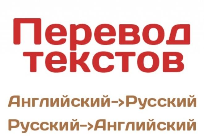 Перевод с английского на русский и наоборотПереводы<br>выполню перевод текста с русского на английский, с английского на русский язык , 4000 символов стоит 500 рублей .<br>