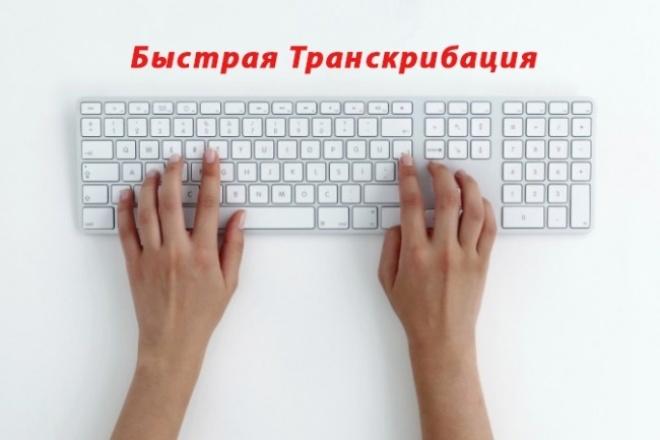 Сделаю транскрибацию из аудио и видео в текст 1 - kwork.ru