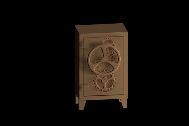 Сделаю 3D модель + дизайн мебели + тeкстурирование + визуализацию 1 - kwork.ru