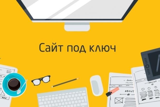 Создам сайт на HTML и CSS 1 - kwork.ru