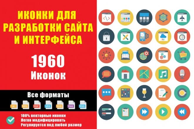 Иконки для сайта в формате ai, eps, pdf, jpg, svg, png, psd 1 - kwork.ru