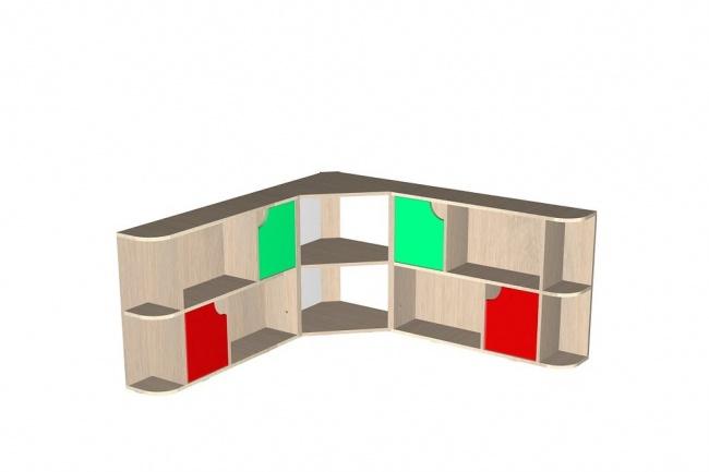 3D дизайн-проект мебели 3 - kwork.ru