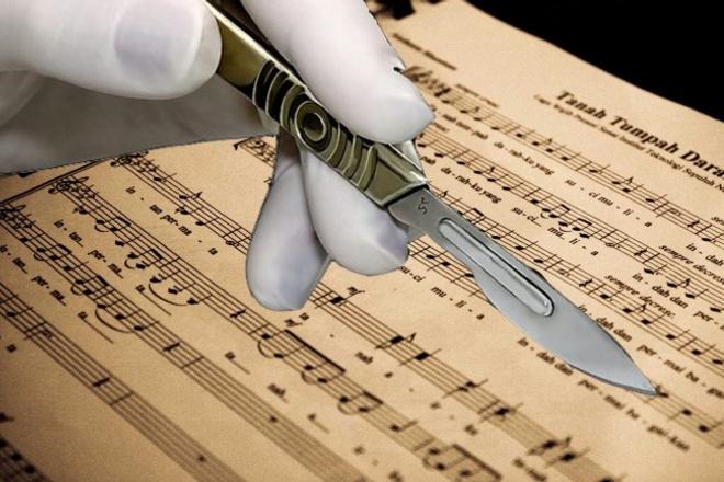 Напишу нотную партитуруНабор текста<br>Напишу нотную партитуру на любой состав оркестра или ансамбля с аудиофайла. Вместе с партитурой высылаю и партии отдельно каждого инструмента.<br>