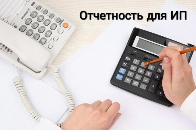 Заполню налоговую отчётность для ИП 1 - kwork.ru