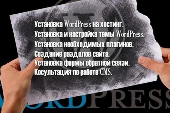 Создам блог/сайт-визитку на CMS WordPress 1 - kwork.ru