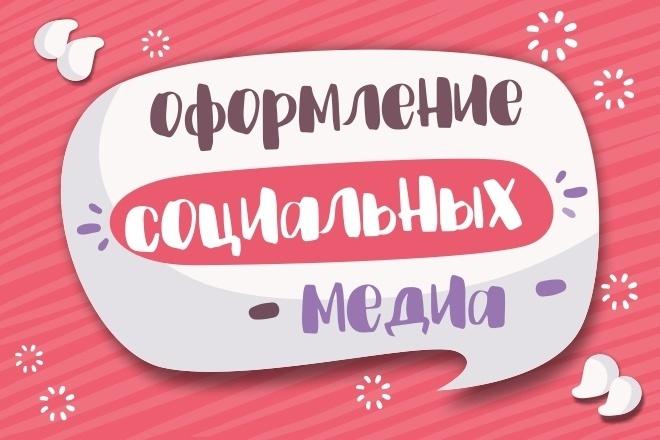 Оформление групп Вконтакте. Дизайн обложек и баннеров 1 - kwork.ru