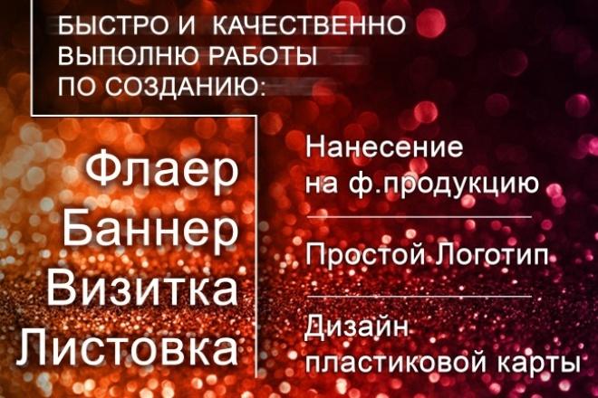 Дизайн пластиковой карты 1 - kwork.ru