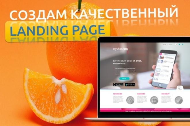 Создам качественный Landing Page сайт Лендинг для Вашего бизнеса 1 - kwork.ru