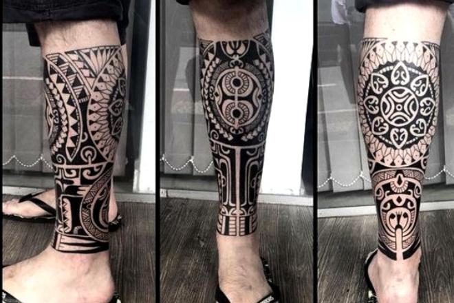 Разработаю и подготовлю эскиз татуировки в стиле Полинезия или этникаИллюстрации и рисунки<br>Если вы хотите оригинальную татуировку в стиле Полинезия или этника, отражающую Ваши интересы и предпочтения, то я с радостью готова выслушать ваши пожелания и разработать лично для Вас эскиз.<br>