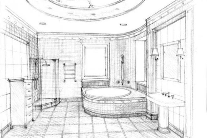 Создам интерьер любой комнаты 1 - kwork.ru