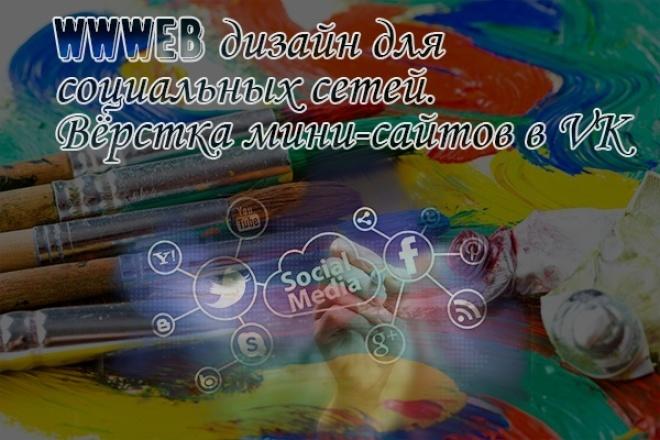 Оформлю обложку в группу 1 - kwork.ru