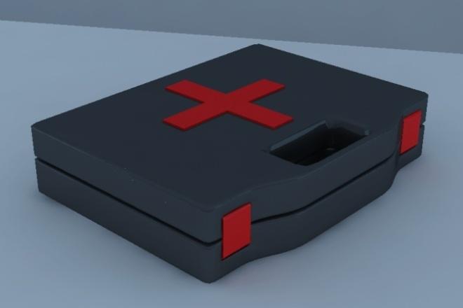 Создам 3D модельФлеш и 3D-графика<br>Создам нужную вам 3D модель от вас: Идея от меня: модель, текстуры и рендер модели с выгодных ракурсов.<br>