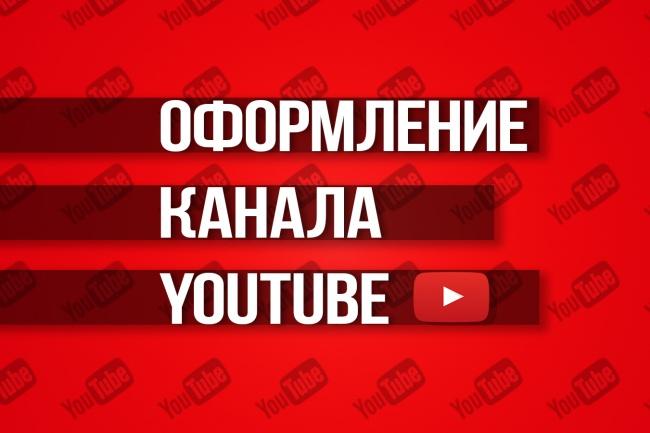 Создам шапку и аватар для YouTube канала 1 - kwork.ru