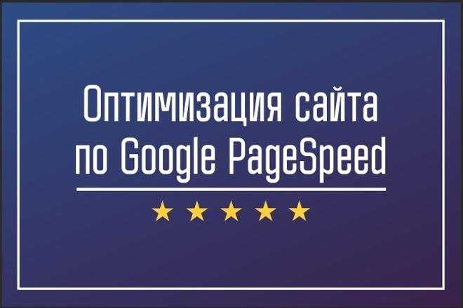 Оптимизация сайта по Google Pagespeed 1 - kwork.ru