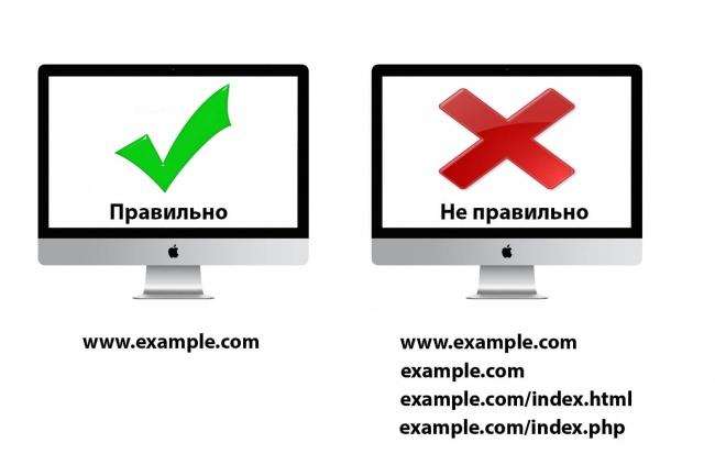 Поиск, настройка, удаление дублей страниц на Opencart, Wordpress, Joomla 1 - kwork.ru