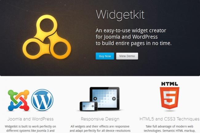 Установлю модуль для слайдера и галереи на сайт Joomla (Widgetkit) 1 - kwork.ru