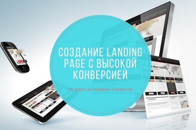 Создание Landing Page с высокой конверсией на Tilda и ПлатформаLP 1 - kwork.ru