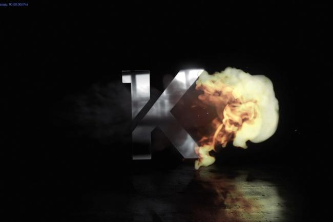 Создам интро логотип в огнеИнтро и анимация логотипа<br>Создам интро - появление логотипа из огня как в примере, нужен логотип, канал(youtube) или название компании<br>