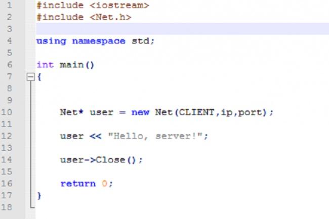 напишу библиотеку для работы с сетью (UDP) под Windows 1 - kwork.ru