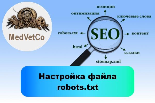 Настройка файла robots.txt 1 - kwork.ru