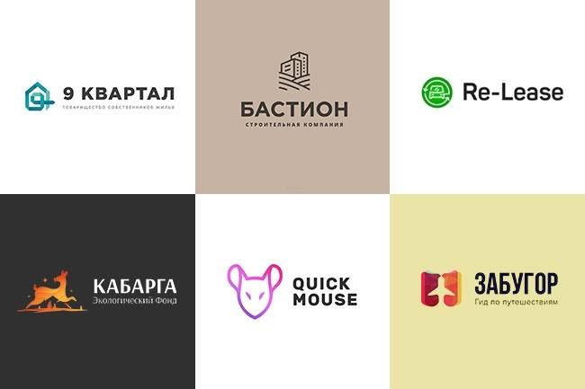 Логотип со значком 1 - kwork.ru