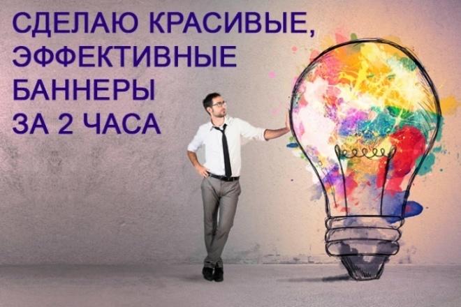 сделаю 4 баннера 1 - kwork.ru