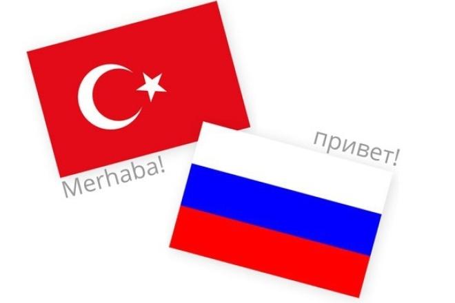 Делаю перевод с турецкого на Русский и с русского на Турецкий 1 - kwork.ru