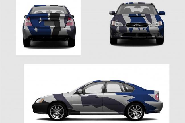 Сделаю брендирование автомобиля 1 - kwork.ru