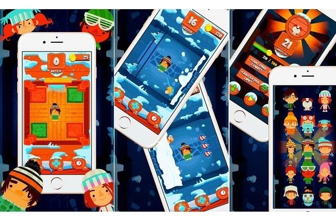 Исходник игры Snow Time Swipe. Unity 3D 1 - kwork.ru
