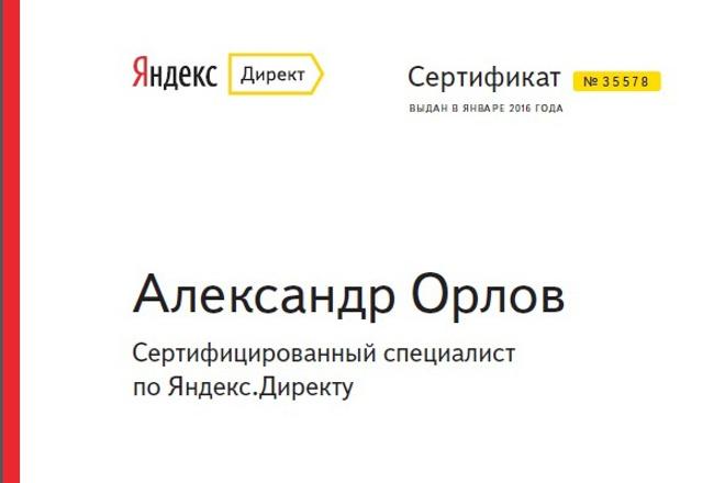 Рекламная компания в Яндекс Директ на 150 ключевых слов 1 - kwork.ru