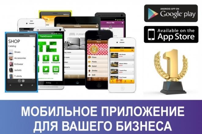 Мобильное приложение Android и IOS под ключ 1 - kwork.ru