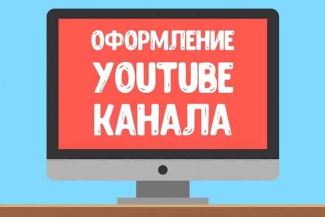 Оформление YouTube каналаДизайн групп в соцсетях<br>Оформление канала включает в себя: шапку, логотип, значки видео (5 штук). Правильное оформление канала поможет Вам получать больше просмотров с главной страницы YouTube и похожих видео. Также Вам проще будет найти рекламодателей, которые будут платить хорошие деньги за рекламу на канале. Обратите внимание на дополнительные опции, возможно Вас что-то заинтересует. Если у Вас возникли вопросы, пишите, с удовольствием отвечу!<br>