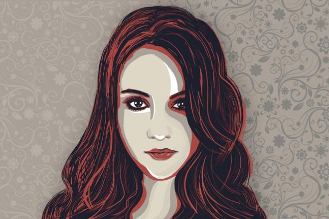 Стилизованный портрет 1 - kwork.ru