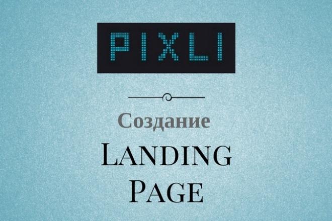 Делаю Landing Page на конструкторе Pixli.ru 1 - kwork.ru