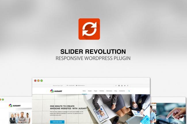 Настрою Slider RevolutionАдминистрирование и настройка<br>Настрою Slider Revolution В стоимость данного кворка входит только установка самого плагина и настройка одного слайдера<br>