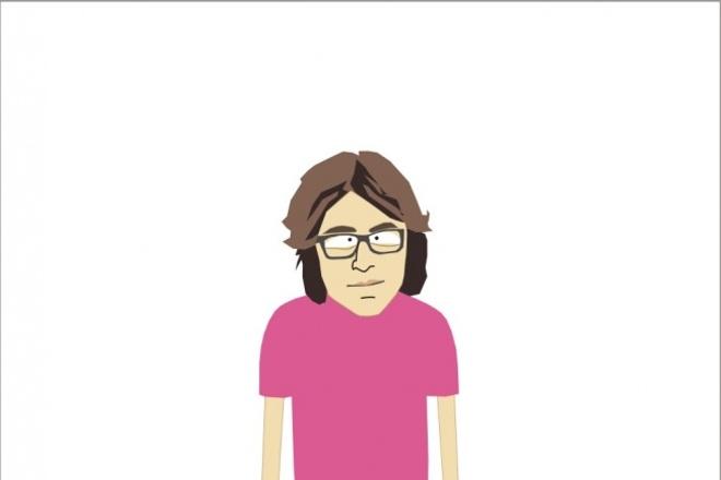 Создам портрет в стиле персонажей Южного парка 1 - kwork.ru