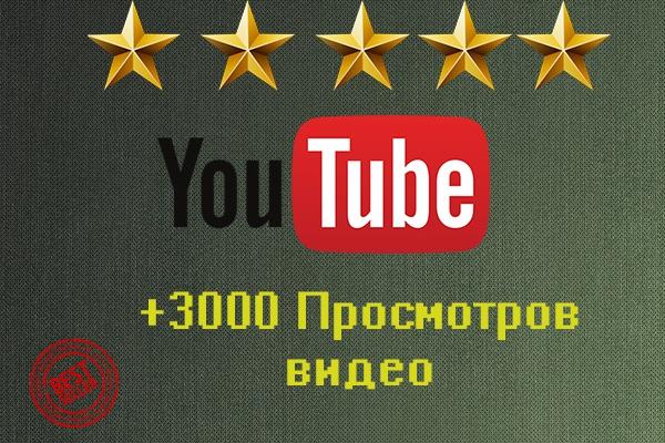 Ваше видео получит 3000 просмотров 1 - kwork.ru