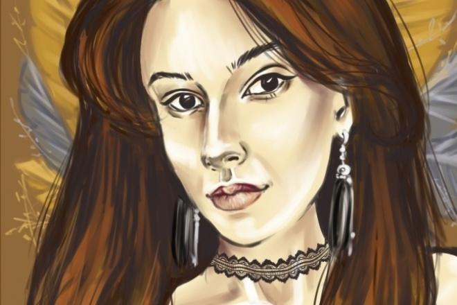 Создам digital-портрет по Вашей фотографии 1 - kwork.ru