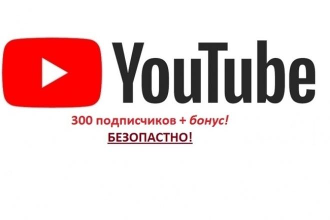 300 Подписчиков за 3 дня в Ваш YouTube каналПродвижение в социальных сетях<br>Хотите раскрутить свой YouTube канал? 300 подписчиков помогут в этом! Приобретая этот кворк, вы получаете 300 живых подписчиков на свой канал в течение 3 дней + ~100 в 4 день работы в подарок! =) Я предлагаю: 300 подписчиков на ваш канал Безопасный режим работы Плавное увеличение подписчиков ( ради вашей безопасности ~100 в день ) Гарантия качества! Внимание! Подписчики, это живые люди. Они могут по своему желанию отписываться от канала, но число отписавшихся, как правило, составляет не более 5% .<br>