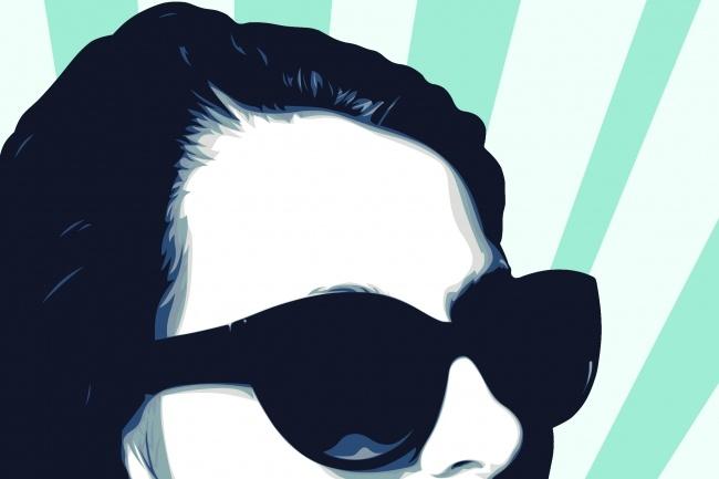 Отрисую Ваш портрет в стиле PopArt 1 - kwork.ru
